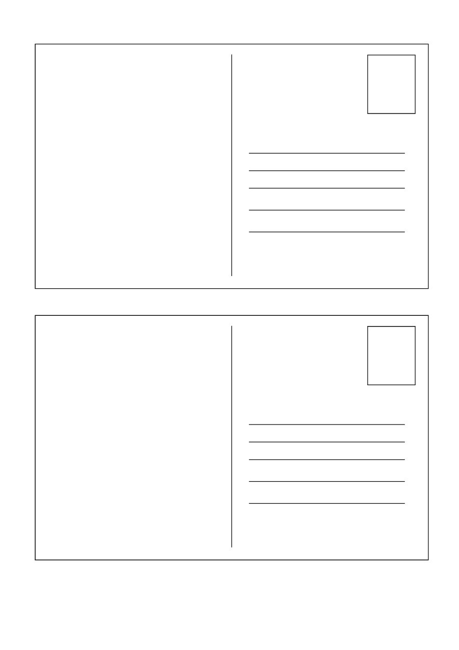 83 Adding A Blank Postcard Template for A Blank Postcard Template