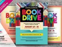 83 Adding Book Drive Flyer Template With Stunning Design with Book Drive Flyer Template