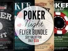 Poker Flyer Template Free