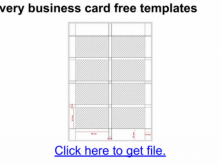 83 Best Business Card Template Avery 28877 Formating with Business Card Template Avery 28877