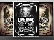 83 Blank Band Flyers Templates Download by Band Flyers Templates