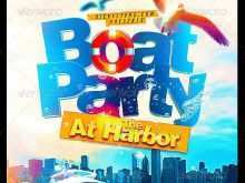 83 Blank Boat Cruise Flyer Template Download by Boat Cruise Flyer Template
