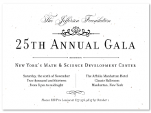 Invitation Card Template For Annual Dinner