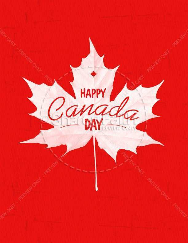 83 Creative Canada Day Flyer Template Templates with Canada Day Flyer Template
