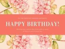 83 Customize Birthday Card Template Mom With Stunning Design for Birthday Card Template Mom