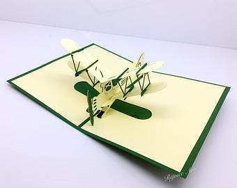 83 Customize Our Free Airplane Pop Up Card Template in Photoshop by Airplane Pop Up Card Template