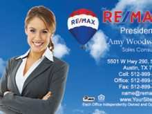 Remax Business Card Templates Download