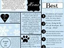 83 Format Christmas Card Newsletter Template for Ms Word with Christmas Card Newsletter Template