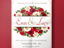 83 Format Wedding Invitation Card Template Red With Stunning Design for Wedding Invitation Card Template Red