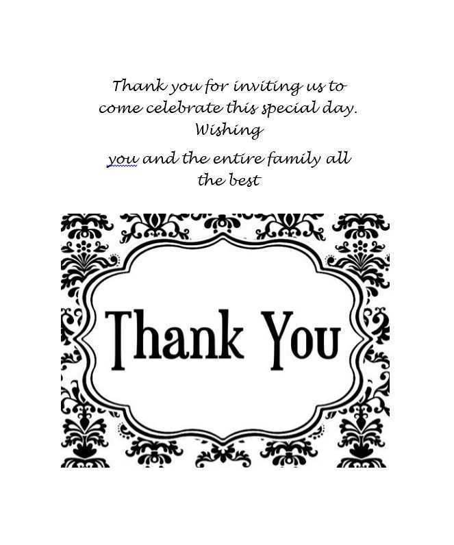 83 Free Printable Thank You For Your Support Card Template Templates with Thank You For Your Support Card Template