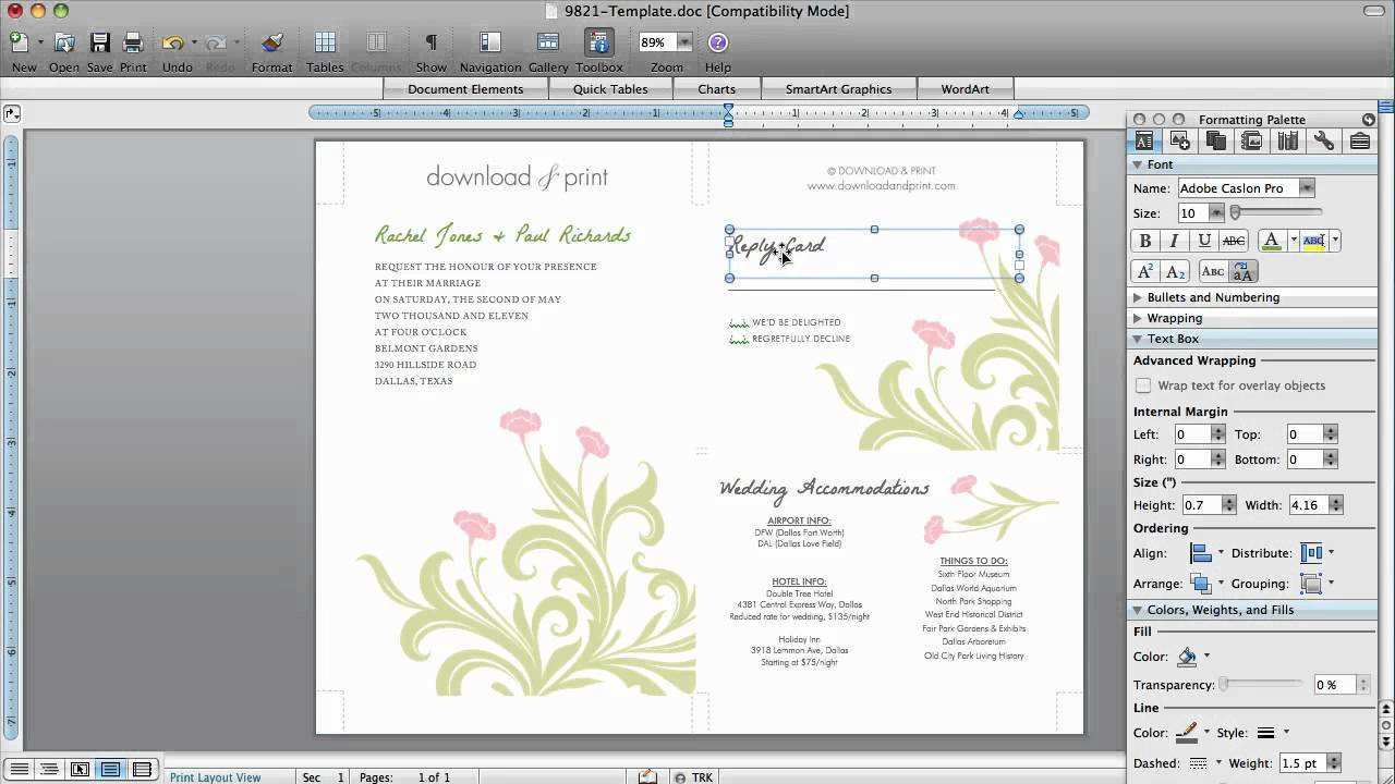 3 How To Create Invitation Card Format Software in Photoshop for