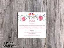 83 Online Floral Business Card Template Word PSD File with Floral Business Card Template Word