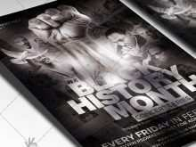 83 Printable Black History Month Flyer Template Now with Black History Month Flyer Template