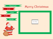 83 Report Christmas Card Templates With Picture Insert in Word for Christmas Card Templates With Picture Insert