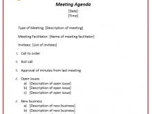 83 Standard Agenda Template For Seminar For Free by Agenda Template For Seminar