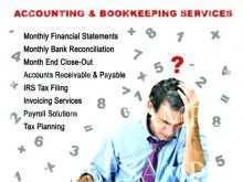 83 Standard Tax Preparation Flyers Templates in Photoshop for Tax Preparation Flyers Templates