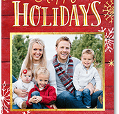 Christmas Card Template Shutterfly