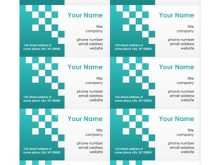 83 The Best Free Business Card Templates On Word Download for Free Business Card Templates On Word