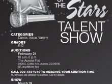 83 The Best School Talent Show Flyer Template Photo by School Talent Show Flyer Template