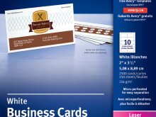 83 Visiting Avery Business Card Template 5911 Templates with Avery Business Card Template 5911