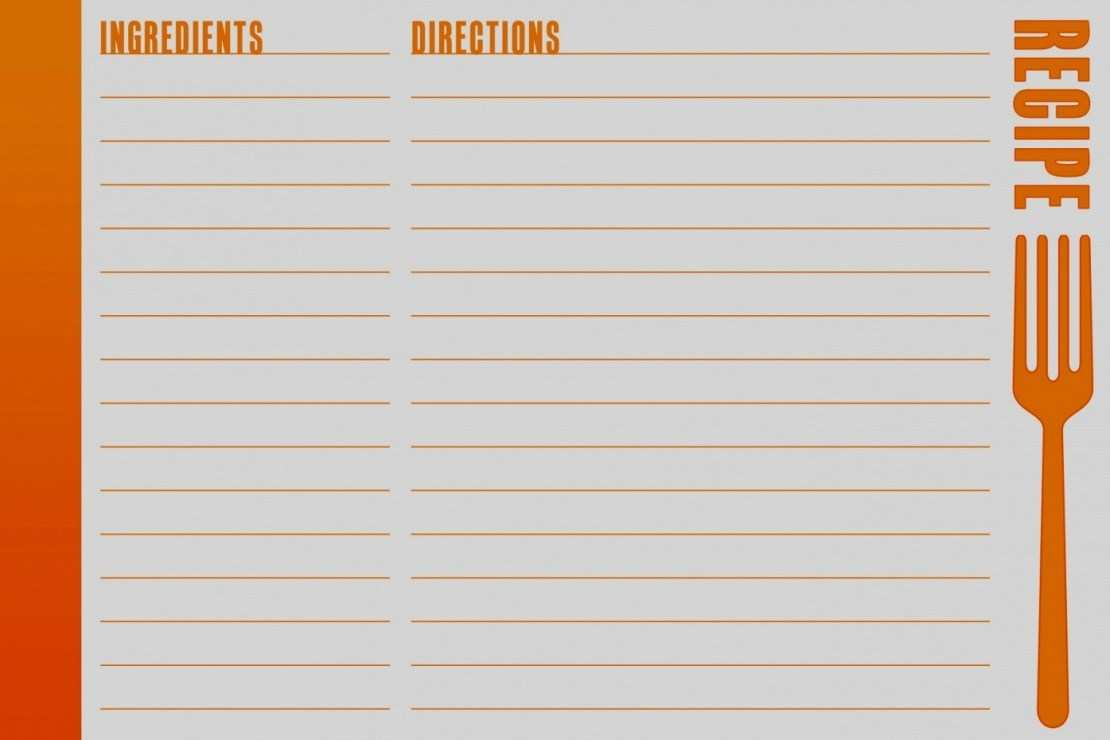83 Visiting Blank Recipe Card Template For Word PSD File with Blank Recipe Card Template For Word