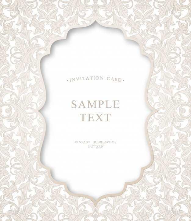 83 Visiting Invitation Card Vector Sample PSD File for Invitation Card Vector Sample