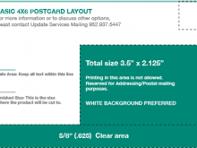 84 4X6 Postcard Back Template Layouts with 4X6 Postcard Back Template