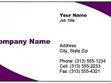 How To Get Business Card Template In Word