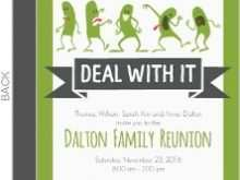 84 Best Invitation Card Reunion Sample With Stunning Design with Invitation Card Reunion Sample