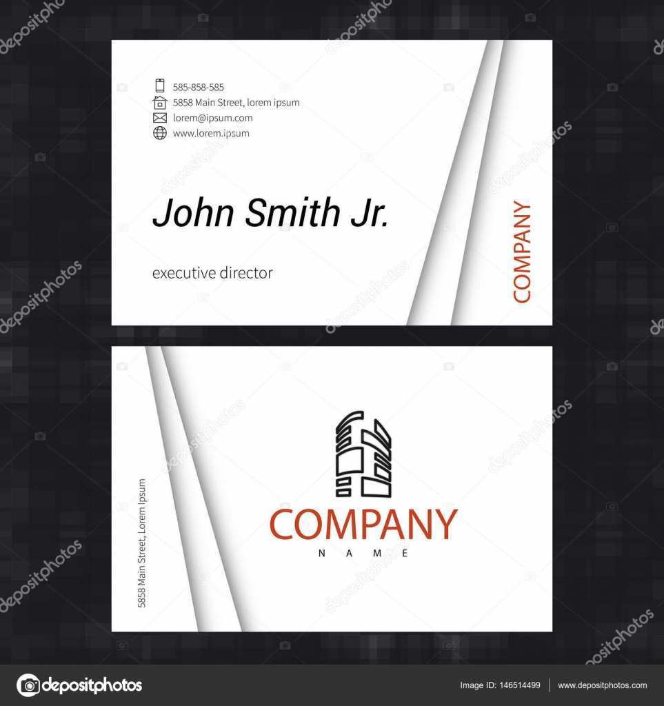 84 Blank Business Card Size Template Vector Templates for Business Card Size Template Vector