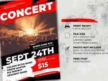 84 Blank Concert Flyer Template With Stunning Design with Concert Flyer Template