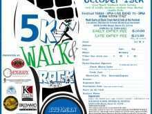 84 Create 5K Race Flyer Template Formating by 5K Race Flyer Template