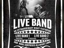84 Create Band Flyers Templates PSD File for Band Flyers Templates