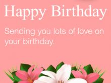 84 Creating Birthday Card Template Grandma Maker for Birthday Card Template Grandma