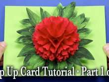 84 Creating Free Pop Up Flower Card Templates Formating for Free Pop Up Flower Card Templates