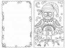 84 Creative Christmas Card Template Coloring in Photoshop with Christmas Card Template Coloring