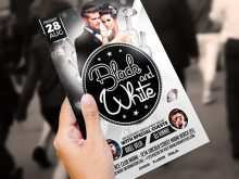 84 Customize Our Free Black And White Party Flyer Template with Black And White Party Flyer Template