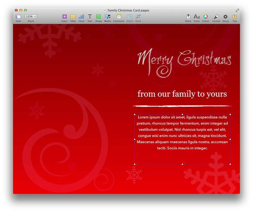 84 Customize Our Free Christmas Card Templates Pages Templates with Christmas Card Templates Pages
