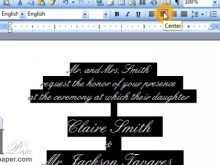 84 Format Invitation Card Format Word Formating by Invitation Card Format Word