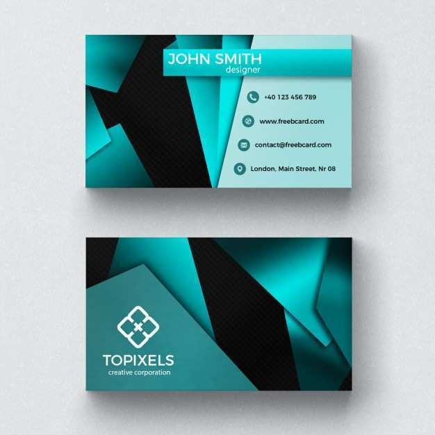 84 Free 3D Business Card Design Template For Free with 3D Business Card Design Template