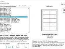 84 Free Avery Inkjet Business Card 8377 Template Formating with Avery Inkjet Business Card 8377 Template