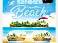 84 Free Beach Flyer Template Free Photo for Beach Flyer Template Free