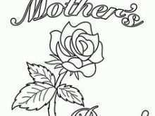 Mother'S Day Card Template Pdf