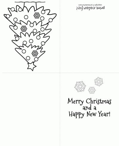 84 Free Printable Christmas Card Template For Colouring Layouts by Christmas Card Template For Colouring