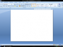 Card Layout On Word