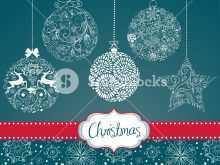 84 Printable Card Christmas Decorations Template PSD File with Card Christmas Decorations Template