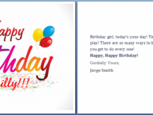 84 Report Blank Birthday Card Template Microsoft Word Photo with Blank Birthday Card Template Microsoft Word
