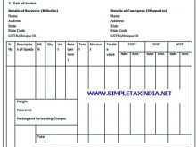 Tax Invoice Format Gst Pdf