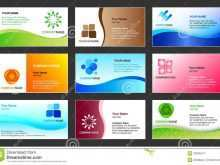 84 Standard Name Card Template Design for Ms Word with Name Card Template Design