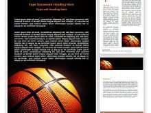 Basketball Flyer Template Word